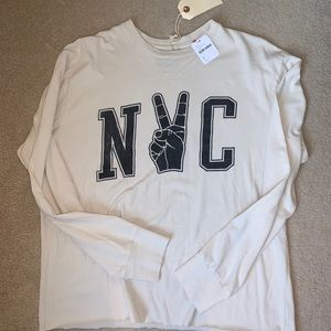 Free People NYC tee